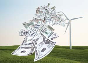 Turbine blowing money -P1